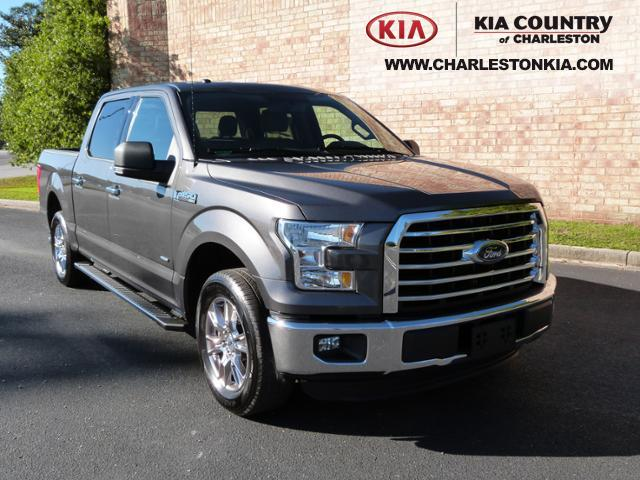 pre owned 2015 ford f 150 2wd supercrew 145 xlt crew cab pickup in charleston ic1145 kia. Black Bedroom Furniture Sets. Home Design Ideas